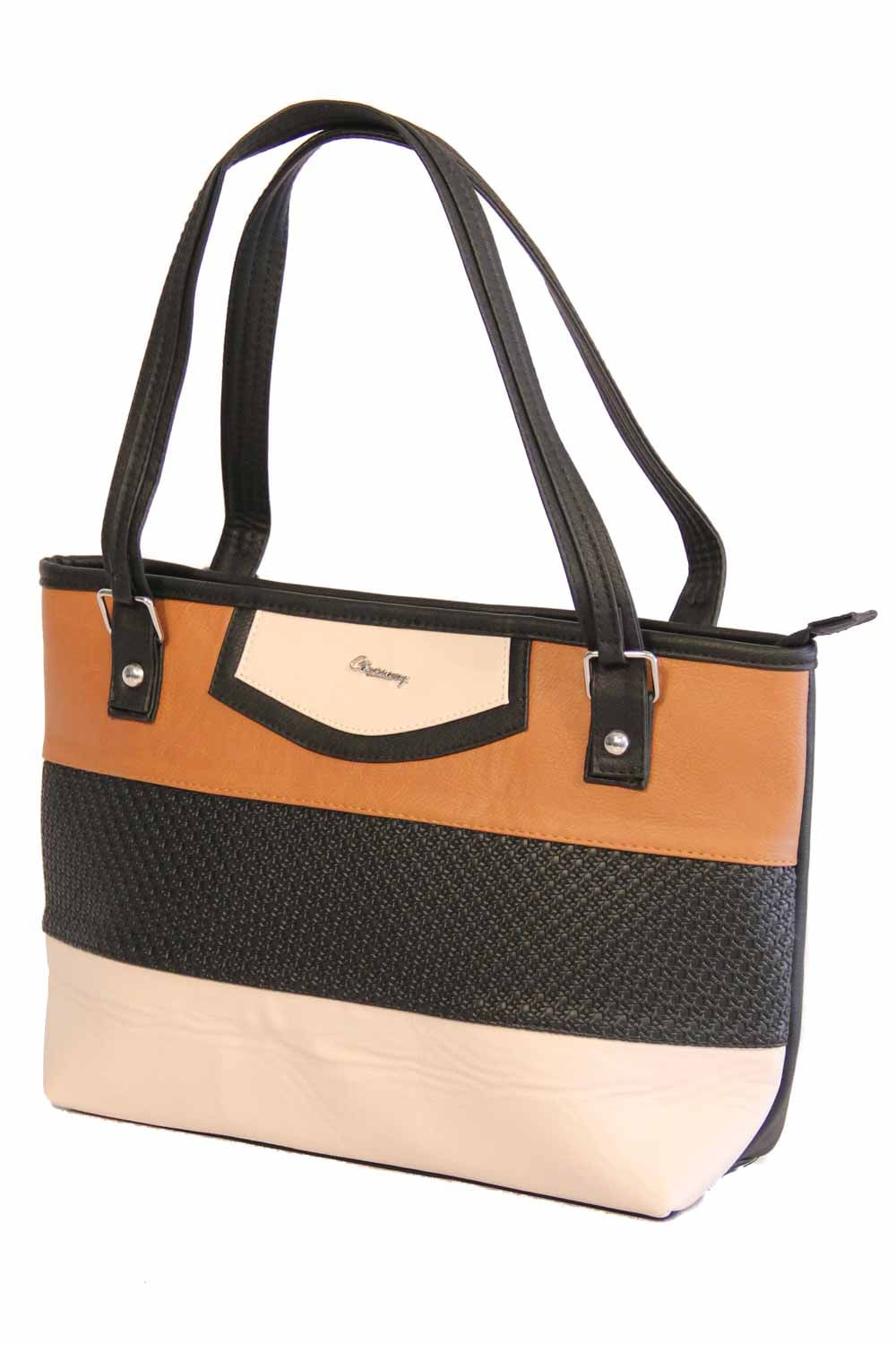 BOLSO MUJER TRES LINEAS